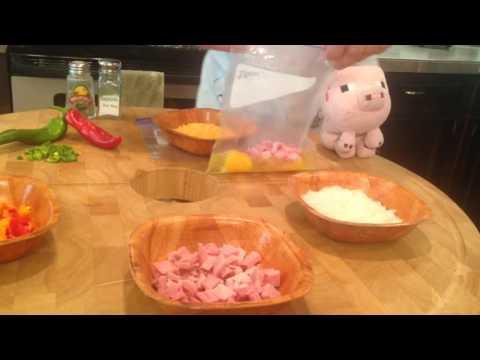 Lake/ziplock bag Omelettes (Mess Free)
