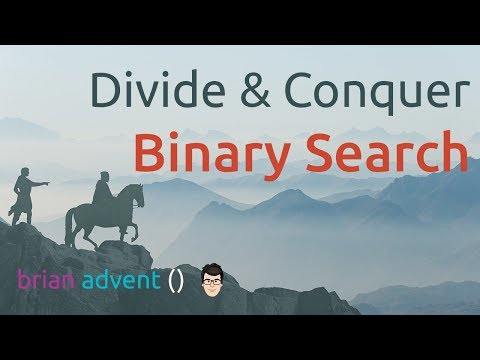 Divide and Conquer: Binary Search with Swift Tutorial | Brian Advent