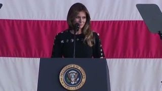 Melania Trump: This trip has been incredible for me