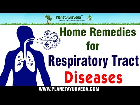 Natural Ayurvedic Home Remedies for Respiratory Tract Diseases