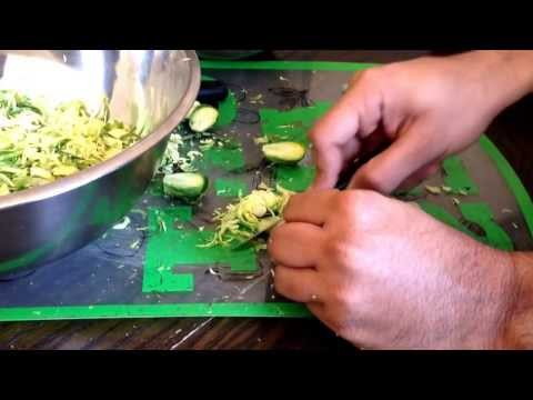 Cutting Strategy- Brussels Sprouts
