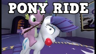 SPIKE RIDES AGAIN WTF MY LITTLE PONY RIDE COMIC DUBS