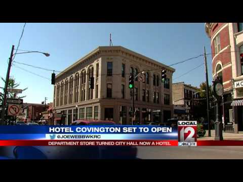 Hotel Covington set to open for guests