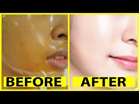 How To Get Fair, Clear, Glowing, Spotless Skin By Magical Peel Off Mask   Simple Beauty Secrets