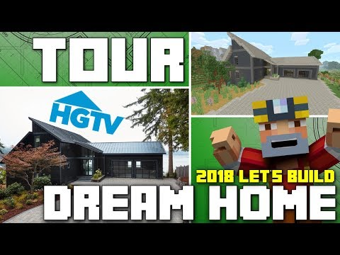 Minecraft Xbox One: HGTV Dream Home 2018 Tour!