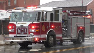 Conshohocken Fire Company Engine 35 Responding 11/24/19