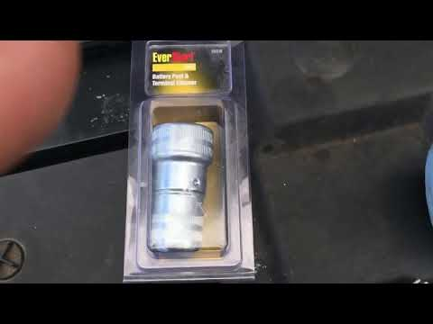 useful Car Battery Post & Terminal Cleaner tool