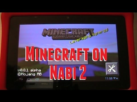 MineCraft on the Nabi 2 Nickelodeon Edition! - No Root!!
