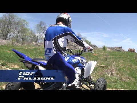 ATV Tire Pressure, Yamaha Sport ATV Tech Tip Series