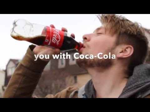 It's easy to make a Coca-Cola Commercial