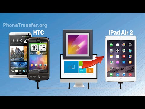 How to Transfer Photos from HTC Phone to iPad Air 2, HTC Pictures to iPad Air 2