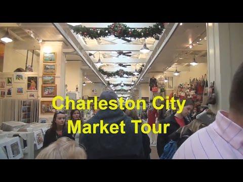 Charleston SC City Market Tour