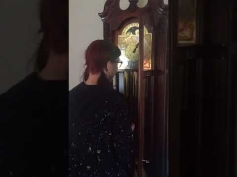 Grandfather Clock won't stop chiming