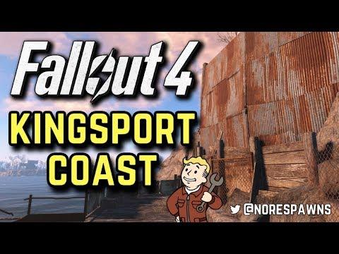Fallout 4 - Kingsport Lighthouse Coast