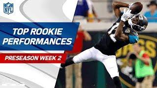 Top Rookie Performances of Week 2 | NFL Preseason Highlights