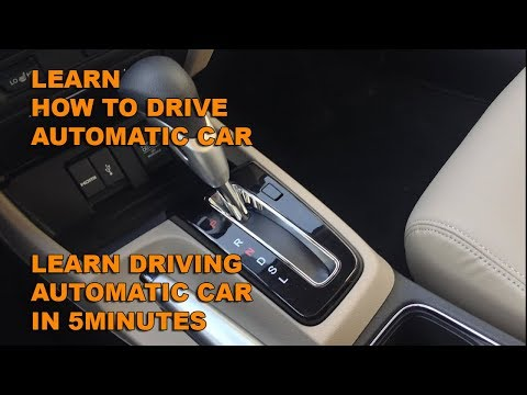 how to drive automatic car in Hindi / Urdu