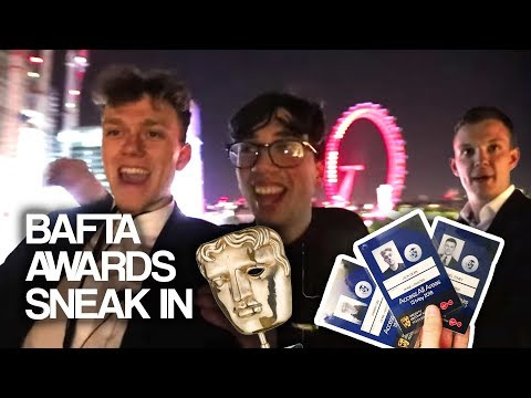 SNEAKING INTO THE BRITISH TV AWARDS (BAFTAS) AFTERPARTY PRETENDING TO BE A CELEBRITY