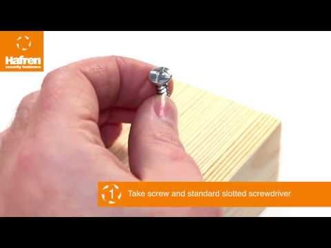Introducing Clutch Head Security screws