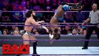 Cedric Alexander vs. Tony Nese: Raw, Nov. 28, 2016