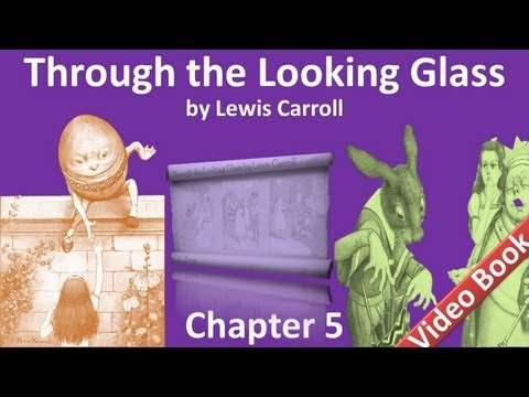 Chapter 05 - Through the Looking-Glass by Lewis Carroll - Wool and Water