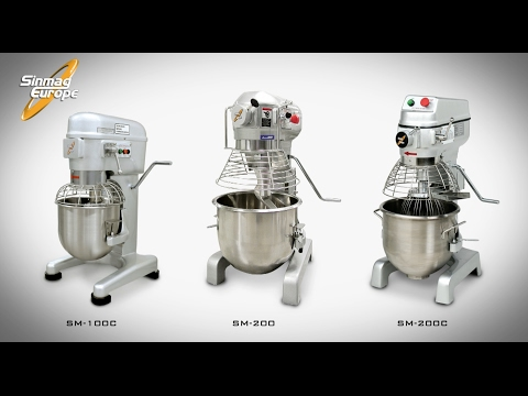 Manual Planetary Mixer | Bakery Machines and Equipment | SM-100C | SM-200 | SM-200C