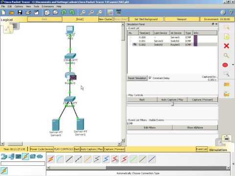 NAT s PortForwarding at port 21,80 in Packet Tracer