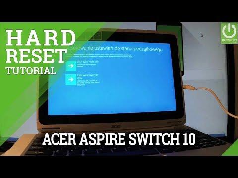 Hard Reset ACER Aspire Switch 10 - Remove Password / Reinstall Windows