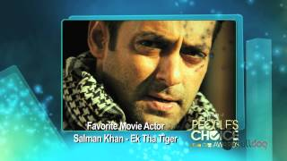 Salman Khan wins Favorite Movie Actor at the People