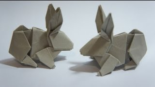 How to Fold an Origami Rabbit « Origami :: WonderHowTo | 180x320