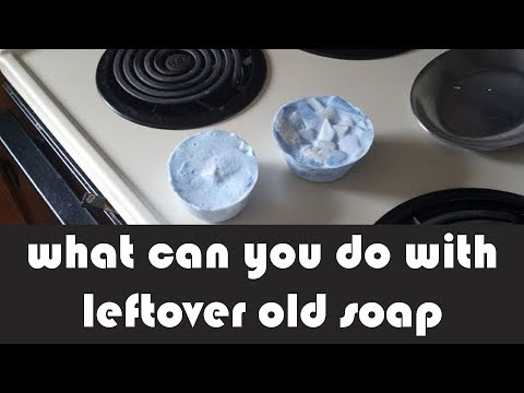 what can you do with leftover old soap