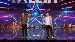Britain's Got Talent 2020 Vince and Lee The Soldiers of Swing Full Audition S14E05