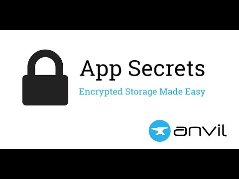 Encrypted Storage with Anvil