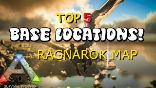 NEW BASE LOCATION BACK ON ARK RAGNAROK