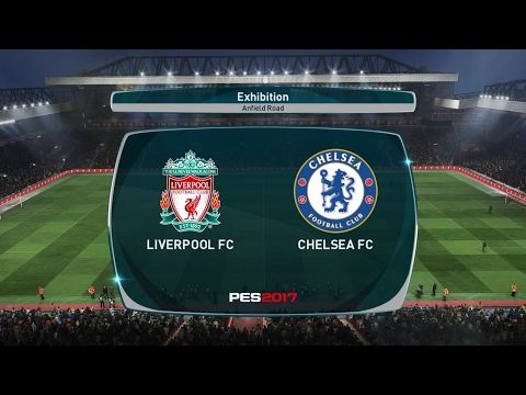 PES 2017 LIVERPOOL VS. CHELSEA Full Match ''Prediction''