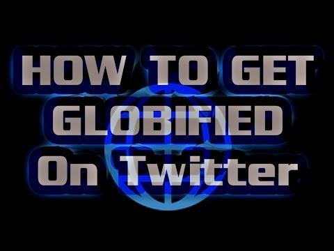 How to get #GLOBIFIED on Twitter - Easy Globe Icon on your profile