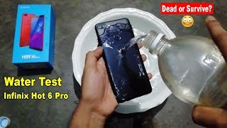 WATER TEST Infinix Hot 6 Pro - Will it Dead or Survive??