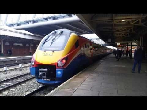 Trains At Nottingham Train Station