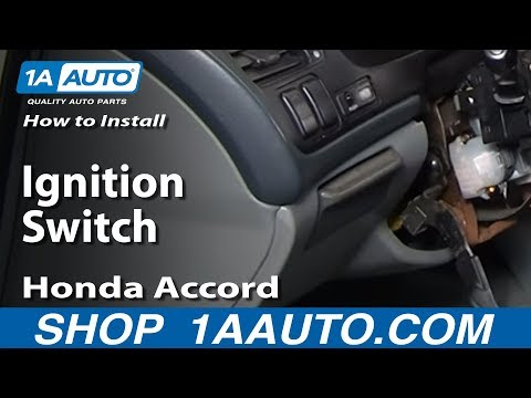How To Install Replace Ignition Switch Honda Accord Prelude Acura TL CL 94-98 1AAuto.com