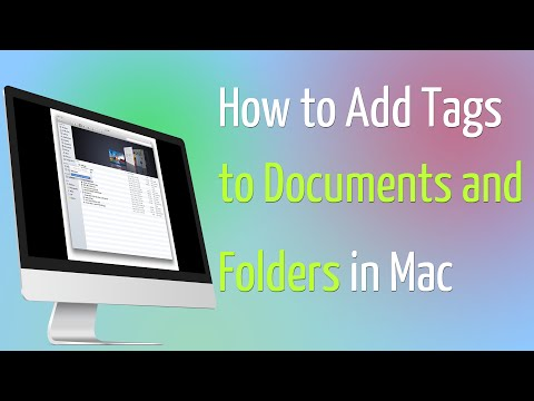 How to Add Tags to Documents and Folders in OS X 10 9