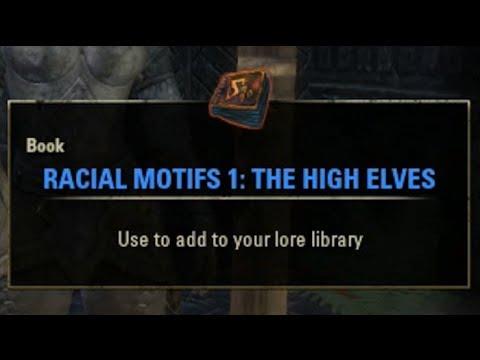 Elder Scrolls Online Racial Motifs Learn Crafting Styles Guide