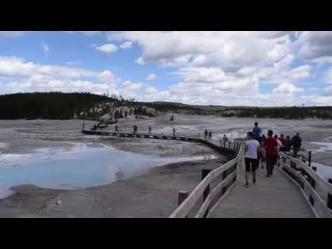 Standing on top of a Volcano | Yellowstone Caldera