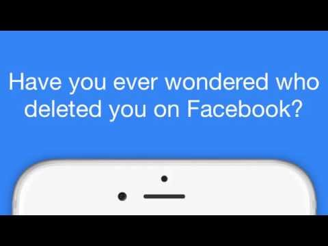 Still Friends - Who Deleted Me on Facebook