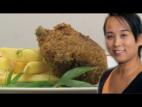 Chinese Crispy Fried Chicken (Chinese Style Cooking Recipe)