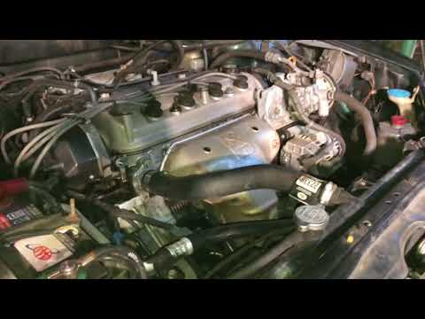 1998 Honda Accord Front Engine Mount Replacement