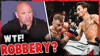 Reactions to the controversial decision in Max Holloway vs Alexander Volkanovski UFC 251, Dana White