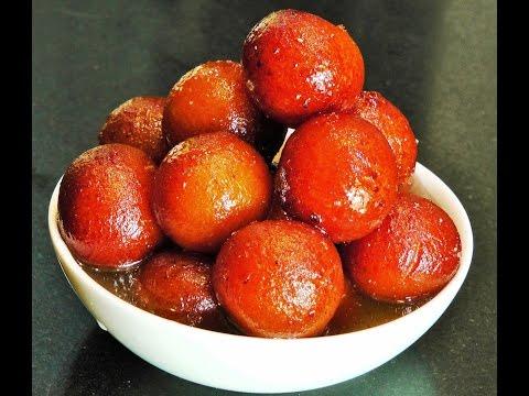 गुलाबजाम | Gulab Jamun Recipe with Khoya or Mawa | Padwa Special | madhurasRecipe