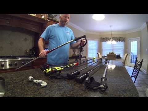 How to Cut Down Ski Poles