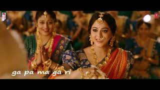 Kanna Nee Thoongada..Bahubali 2 | Video Song With Lyrics..