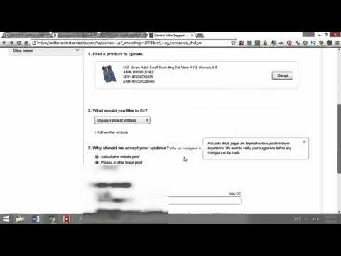 How to Change a Product Page Amazon FBA Title, Images, Photos, Dimensions, Description