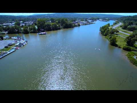 Southern End of Cayuga Lake Ithaca, NY 1080P